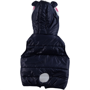 Civil Girls Age 2-6 Navy Blue Hooded Girl Vest (3)