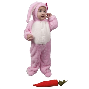 Patiska Nostalji Sleeping Bag Bunny Pink Costume 1-3 Years