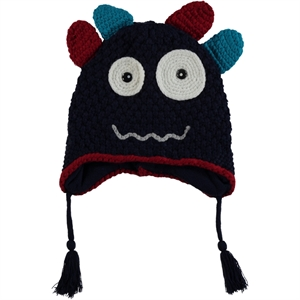 Kitti Boy Sweater Navy Blue Beret 4-12 Years