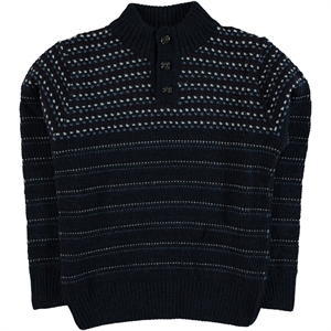 Civil Boys Navy Blue Sweater Boy Sweater 10-14 Years
