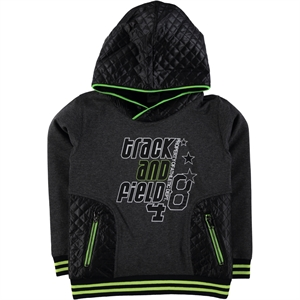 Civil Boys Yesil Age 6-9 Boy Hooded Sweatshirt