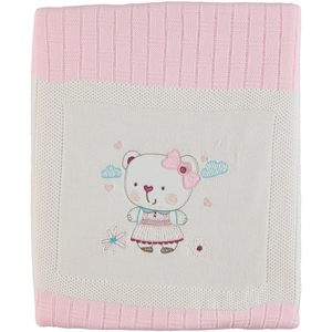 Recos Sweater Blanket-Pink