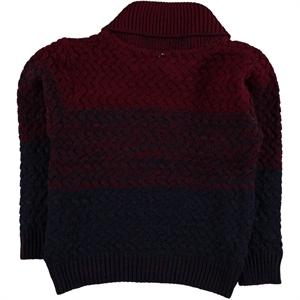 Civil Boys Age 6-9 Boy Burgundy Sweater Knitwear (3)