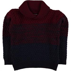 Civil Boys Age 6-9 Boy Burgundy Sweater Knitwear (1)