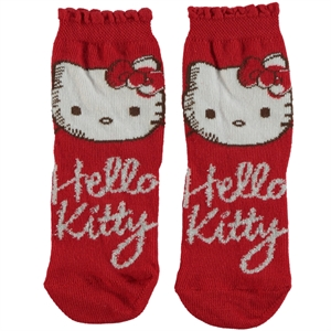 Çimpa Hello Kitty Girl Socks Red Age 3-9