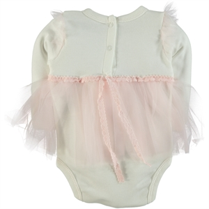 T.F.Taffy Pink Taffy Baby Girl 0-6 Months Bodysuit With Snaps (3)