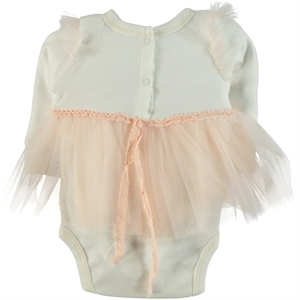 T.F.Taffy 0-6 Months Baby Girl Bodysuit With Snaps Pinkish Orange Taffy (2)
