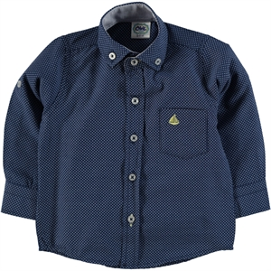 Civil Baby 6-24 Months Baby Boy Navy Blue Shirt
