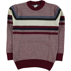 Civil Boys Boy Burgundy Sweater Knitwear Ages Of 10-13