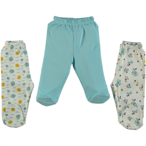 Misket Oh Baby, Booty Baby Girl Single Alt 1-9 Months, Turquoise