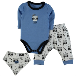 Babycool Baby Boy Suit, Blue, 3-18 Months