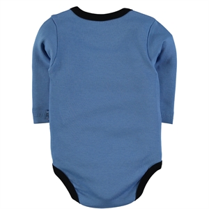 Babycool Boy 3-Months Blue bodysuit with snaps 3-18 (3)