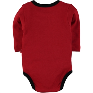 Babycool Boy 3-3-18 Months Red bodysuit with snaps (3)