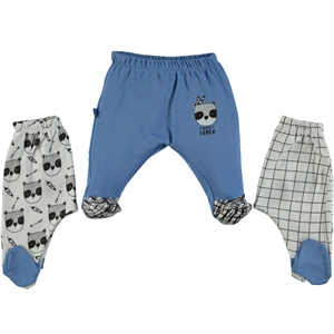 Babycool Boy 3-gang single alt 1-9 months, blue
