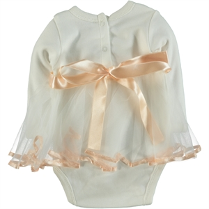 T.F.Taffy 0-6 Months Baby Girl Bodysuit With Snaps Taffy Salmon (2)