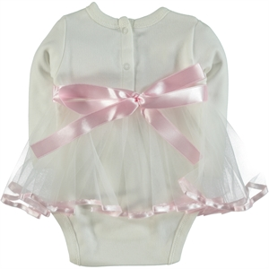 T.F.Taffy Pink Taffy Baby Girl 0-6 Months Bodysuit With Snaps (2)