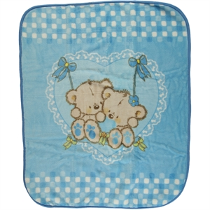İlk Cemre Records Plush Blanket Blue cm will be installed