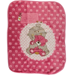 İlk Cemre Pink Plush Blanket will be installed cm records (1)