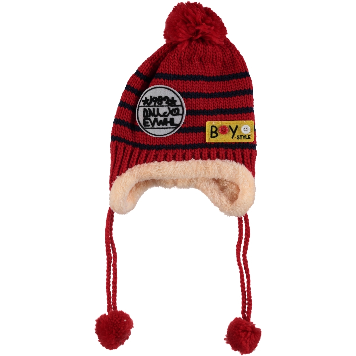 Prahar Red Beanie Boy 8-12 Years