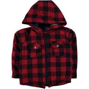 Civil Boys Red Hooded Shirt Boy Age 10-13