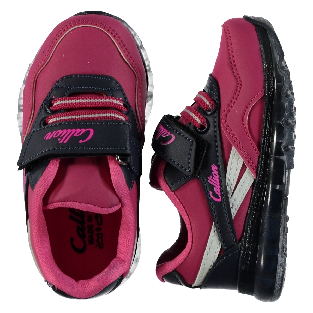 Callion 22-25 Sneakers Baby Girl Fuchsia Number