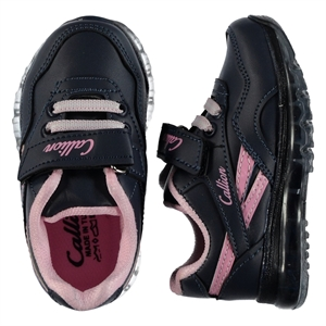 Callion Baby Girl Navy Blue Sneakers 22-25 Number