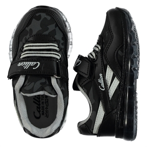 Callion 22-25 Baby Boy Black Sneakers