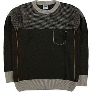 Civil Boys Knitwear Sweater Brown Boy Ages 10-13