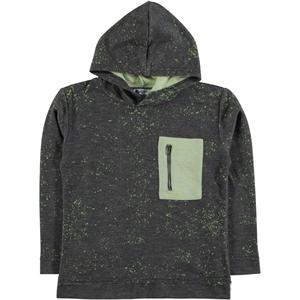 Civil Boys Yesil Age 6-9 Boy Hooded Sweatshirt