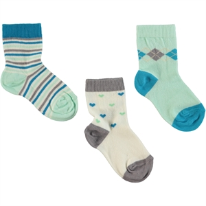 Civil Girls 3-mint green Socks 3-12