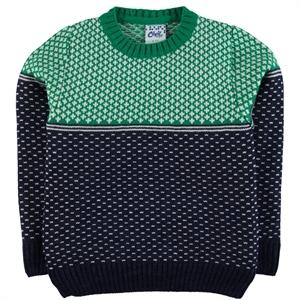Civil Boys Yesil Age 6-9 Boy Sweater Knitwear