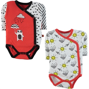 Babycool Tongue In Cheek 1-6 Months Baby Girl Bodysuit With Snaps