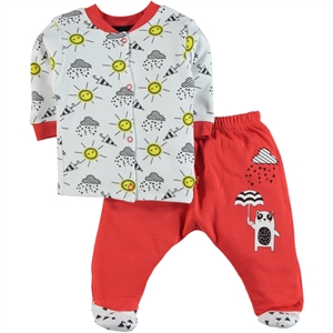 Babycool Tongue In Cheek Baby Girl Outfit, Pajama, 3-12 Months