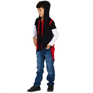 Victory Age 6-9 Boy Hooded Vest Red
