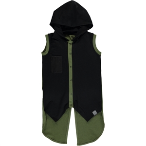 Victory Yesil Age 6-9 Boy Hooded Vest