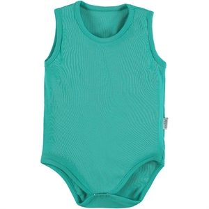Kujju Mint Green Baby Bodysuit With Snaps 24-30 Months