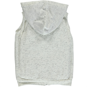 Cvl Ecru Hooded Vest Girl Age 6-9 (2)