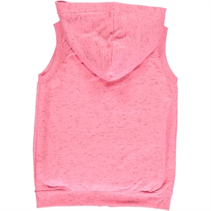 Cvl Age 6-9 Girl Pink Hooded Vest (2)