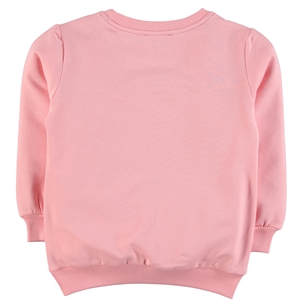 Cvl Baby Girl Powder Pink Sweatshirt Combed Cotton Age 2-5 (2)