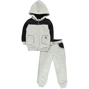 Cvl Girl Combing Grey Track Suit 2-5 Years