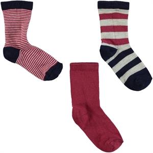 Civil Boys Boy 3-2 to 12 years of red socks