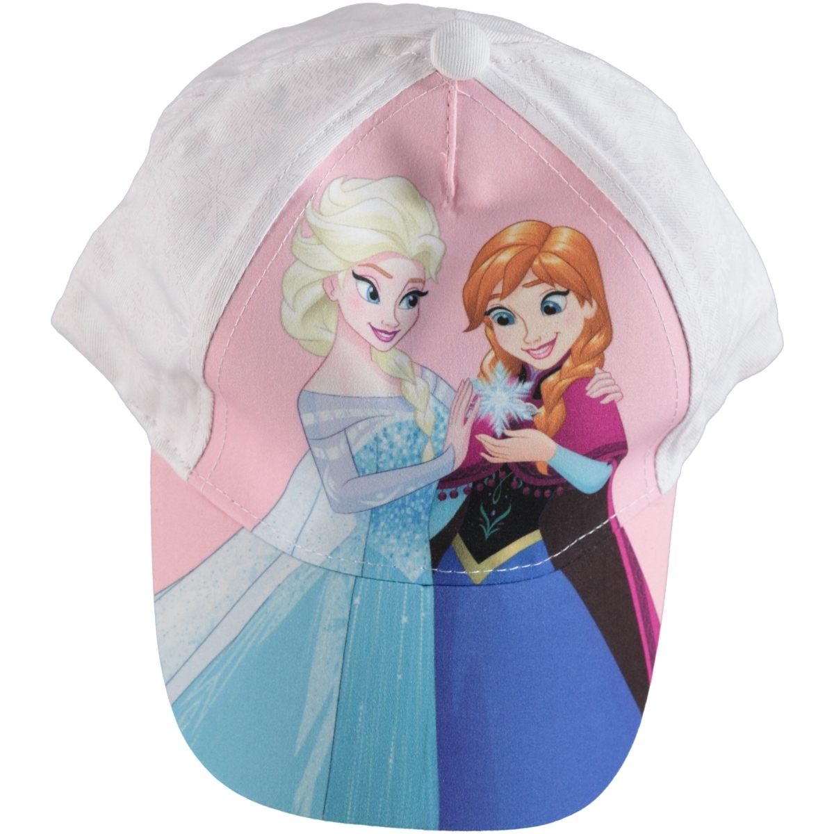 Frozen Disney Girl's Hat White, 2-5 Years