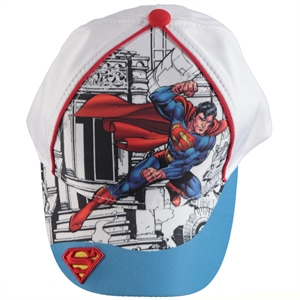 Uğur Superman Boy Hat White, 2-5 Years