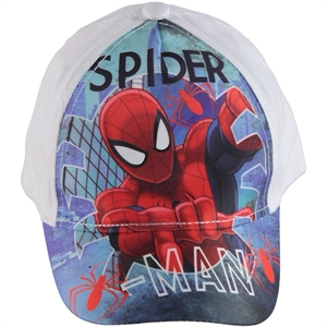 Spiderman Boy Hat White, 2-5 Years (1)