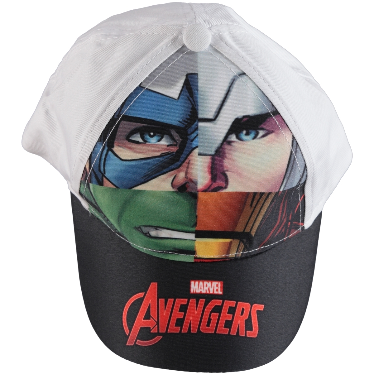 Uğur Avengers Boy Hat White, 2-5 Years