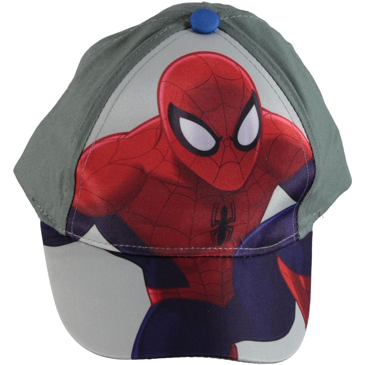 Spiderman Boy Gray Hat 2-5 Years