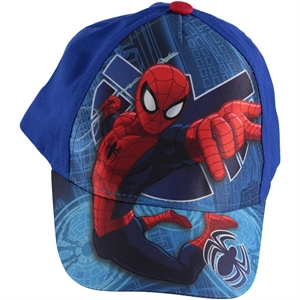 Spiderman Saks Boy Hat Blue 2-5 Years