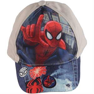 Spiderman Boy Hat Beige 2-5 Years