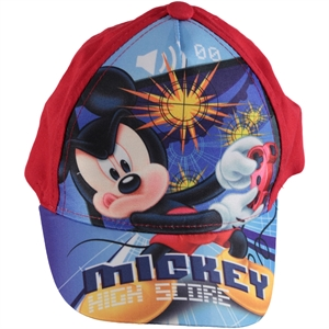 Mickey Mouse Children Age 2-5 Male Red