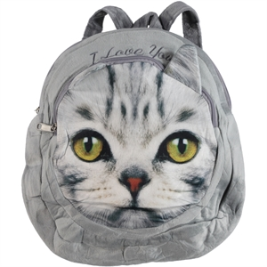 Essocan Girl Child Backpack Gray Ages 3-7